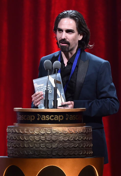 Bear McCreary (photo by Getty images for ASCAP)