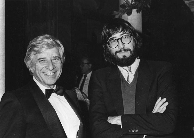Bernstein with John Landis, 1978