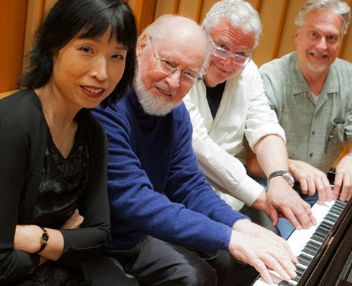 Gloria Cheng with John Williams, Randy Newman and Don Davis