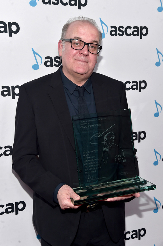 Craig Armstrong (photo by Getty images for ASCAP)