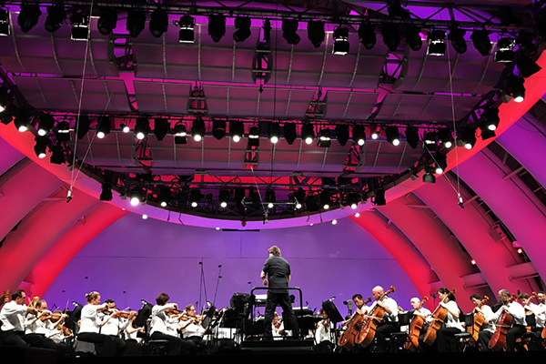 David Newman conducts the Los Angeles Philharmonic