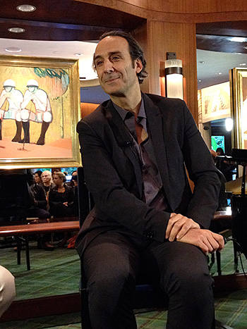 Alexandre Desplat (Photo by Marilee Bradford)
