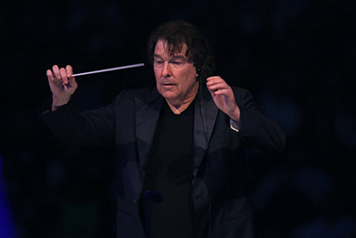David Newman conducting the LA Phil for \'E.T.\'.