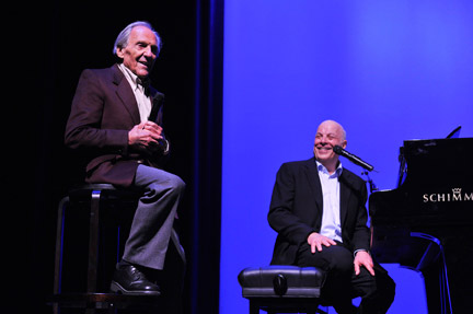 Songwriters Norman Gimbel and Charles Fox reminisce about their many collaborations, including