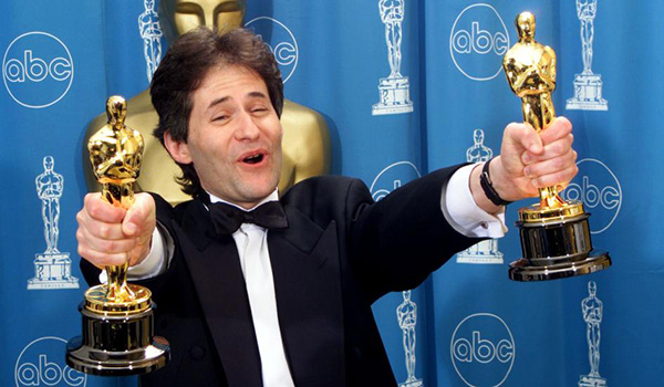 Horner wins 1998 Oscars for <i>Titanic</i> score and song (photo: Reuters)