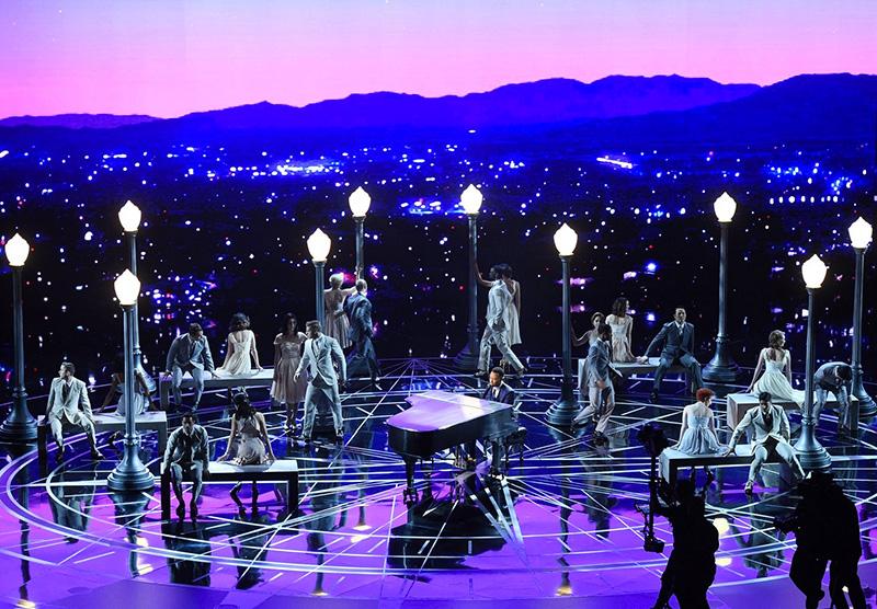 John Legend and company offer a medley from <i>La La Land</i>.