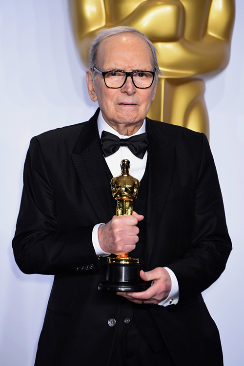 Ennio Morricone  (Photo by Jeff Kravitz/FilmMagic)