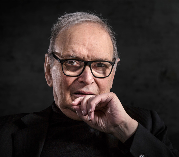 Ennio Morricone (photo by Christian Muth)