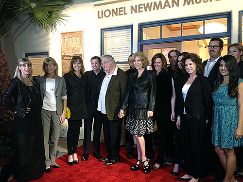 Members of the Newman family