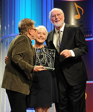 (L to R) Paul Williams, Nancy Knutsen and John Williams