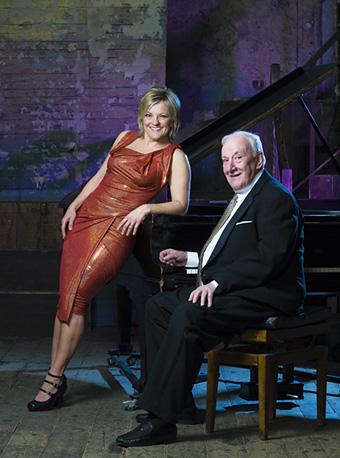 Sir Richard Rodney Bennett with Claire Martin