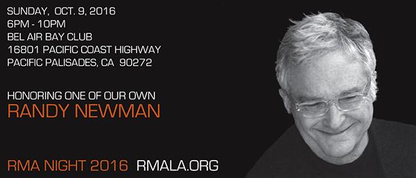 RMA Randy Newman Tribute