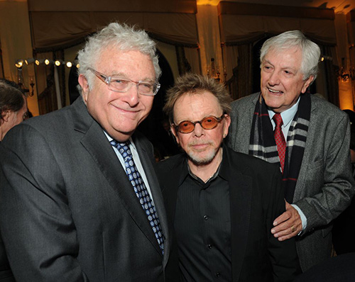 Songwriters Randy Newman, Paul Williams and Arthur Hamilton