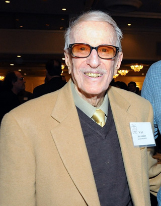 97-year-old composer Van Alexander
