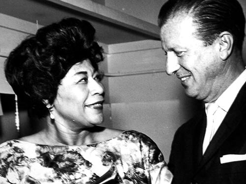 Ella Fitzgerald and Van Alexander