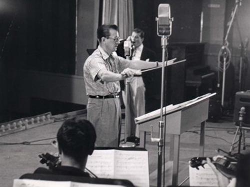 Van Alexander conducting for Gordon MacRae