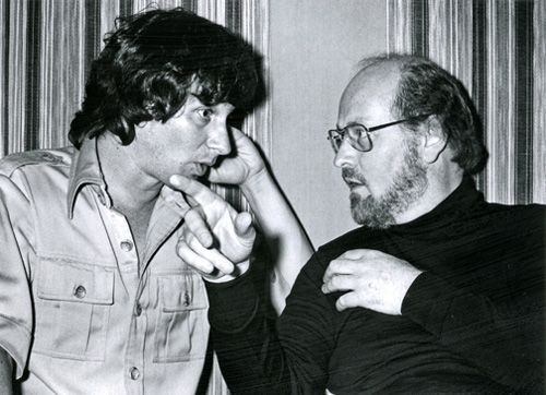 Spielberg and Williams working on