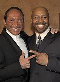 Paul Anka and Kevin Eubanks