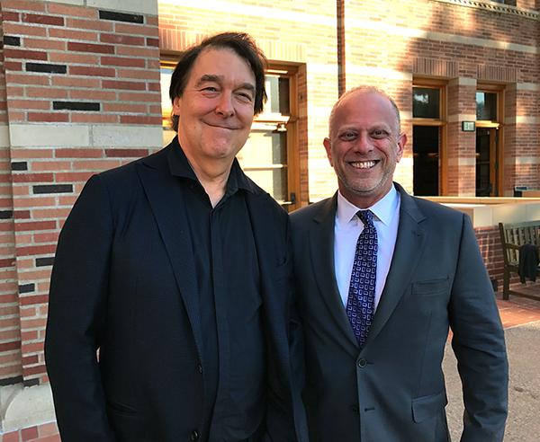 David Newman and Steve Linder