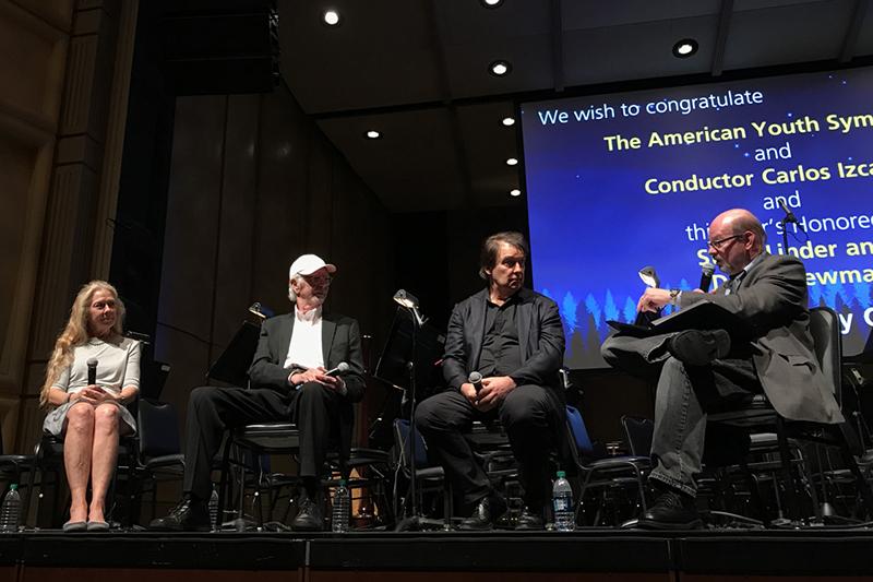 Katie Kirkpatrick, Ralph Grierson, David Newman, and Jon Burlingame