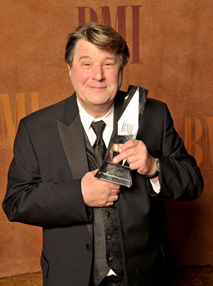 Christopher Young, 2008 Richard Kirk Award for outstanding career achievement (photo courtesy of BMI)