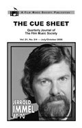 The Cue Sheet, Vol. 21, No. 3 (July 2006)