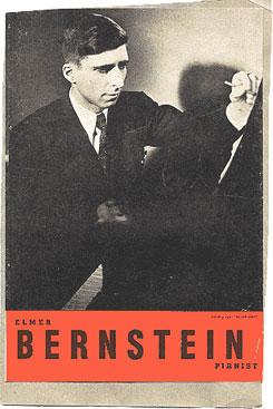 Program for Bernstein recital, 1947