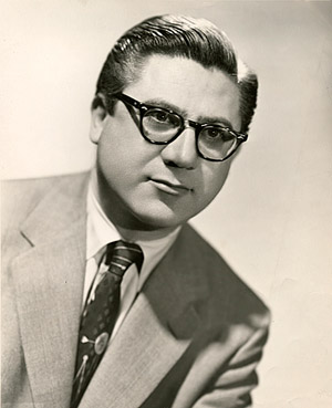 Irving Szathmary, circa 1950s.
