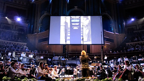 Nicholas Dodd leads the Royal Philharmonic Orchestra in the theme from <i>Midnight Cowboy</i>.