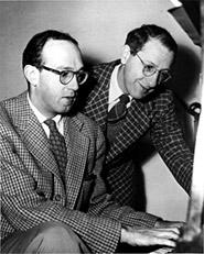 Jay Livingston and Ray Evans, <br />circa 1940s