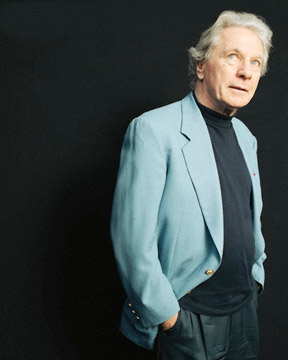 Maurice Jarre, 1999. Photograph by Marcel Hartmann.