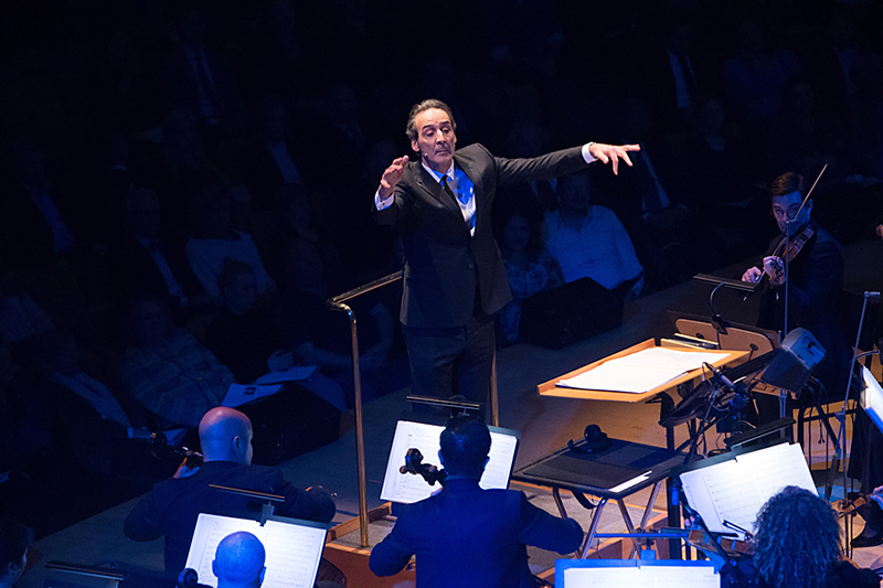 Alexandre Desplat conducts his music from <i>The Shape of Water</i>.