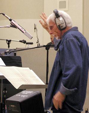 Robert Drasnin in Voodoo2 sessions. Photo: James T.