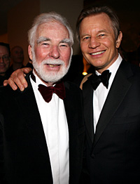 John Scott with Michael York
