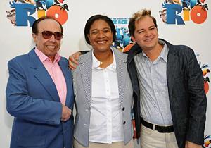 Sergio Mendez, Siedah Garrett and Carlinhos Brown