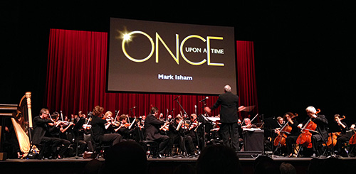 Mark Watters conducts medley of contemporary TV themes